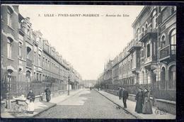 Frankrijk France - Lille - Fives Saint Maurice - Avenue Des Lilas - 1915 - Zonder Classificatie