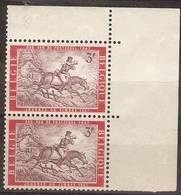 Belgium - 1967 Stamp Day Corner Pair MNH ** SG 2012 - Belgium