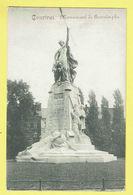 * Kortrijk - Courtrai (West Vlaanderen) * Monument De Groeninghe, Groeninge Standbeeld, Statue, Parc, Rare, Old - Kortrijk