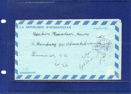 ##(DAN194)- Postal History-Afghanistan 1975-Aerogramme Used To West Germany - Afghanistan