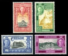 1947 Ceylon (3) Complete Set - Ceylon (...-1947)