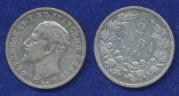 Bulgarien 2 Lewa 1894 Ferdinand I. Ag835 10g - Bulgarie