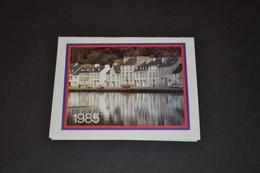 Mini Calendrier 1985 Port Laquant Finistére - Calendriers