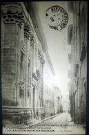 CARTE POSTALE  EXPEDIEE A MLLE MARIE  ROUX 1905 FREDERIC MISTRAL FELIBRIGE - Autographes