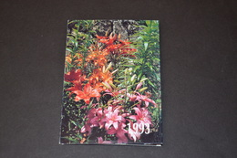 Mini Calendrier 1993 Bijouterie BOBIN Fleurs De Lys - Calendriers
