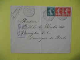 Lettre Cachet Bureau De Distribution   La Chapelle St-Martin   1910  Savoie - France