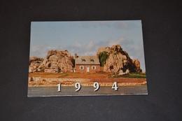 Mini Calendrier 1994 Maison Bord De Mer Bijoux GL - Calendriers