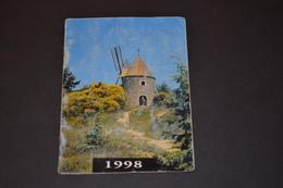 Mini Calendrier 1998 Moulin - Calendriers