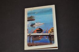 Mini Calendrier 1970 Bord De Lac  Bijoux GL - Calendriers