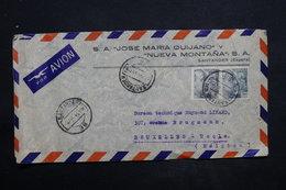 ESPAGNE - Enveloppe Commerciale De Santander  Pour La Belgique En 1949 - L 25042 - 1931-50 Briefe U. Dokumente