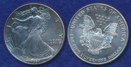 USA 1 Dollar 1994 Liberty Ag999 1oz - 1979-1999: Anthony