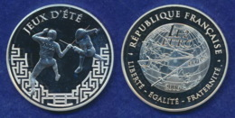 Frankreich 1 1/2 Euro 2006 Fechten Ag900 22,2g - Frankreich