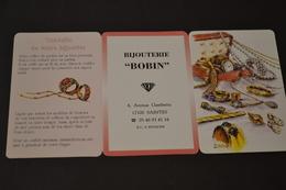 Mini Calendrier 2000 Bijouterie BOBIN - Calendriers