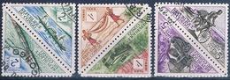 Congo , Republica 1961  -  Yvert Yvert 36 / 37 + 38 / 39 + 40 / 41  ( Usados ) - Congo - Brazzaville