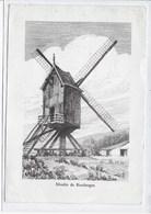 KEERBERGEN :GROOT FORMAAT-MOLEN-MOULIN-WINDMOLEN- - Moulins à Vent