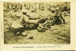 12549 -  Japon  -  La Guerre Russo - Japonaise. -   BLESSES  RUSSES ATTENDANT LES SOINS - Sonstige