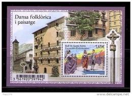 ANDORRA FRANCESA 2014 - BALL DE SANTA ANNA - BLOCK - French Andorra