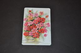 Mini Calendrier 2000 Bijouterie BOBIN Bouquet De Fleurs - Petit Format : 1991-00