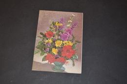 Mini Calendrier 1980 Bouquet De Fleurs - Calendriers