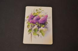 Mini Calendrier 1996 Bijouterie BOBIN Fleurs Lilas - Petit Format : 1991-00