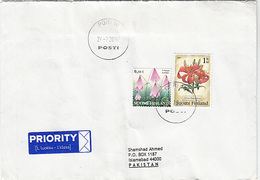 Finland  Cover, Stamps Flora              (A-2100-special-37) - Finland