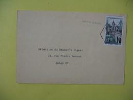 Lettre Cachet Poste  Rurale Ugine     1959  Savoie - France
