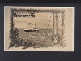 Schiffspost Madrid Bremen AK 1934 - Piroscafi