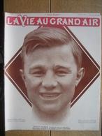 1910 TENNIS : MAX DECUGIS VAINQUEUR A MONTE CARLO/BOXE / BILLY PAPKE-WILLIE LEWIS-CHARLEY HITTE-HARRY LEWIS/JACKY CLARK - Livres, BD, Revues
