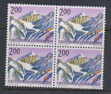Liechtenstein 1993 Berge VI 1v Bl Of 4 ** Mnh (42150C) - Liechtenstein