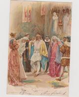 """Cartolina Illustrata John H. BACON, """"Molto Rumore Per Nulla"""" Della Serie Shakespeare N.1  - F.p.  - Fine '1800 - Illustratori & Fotografie"""
