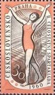 USED STAMPS Czechoslovakia - The 2nd National Spartacist Game- 1959 - Czechoslovakia