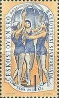 USED STAMPS Czechoslovakia - The 2nd National Spartacist Game- 1960 - Czechoslovakia