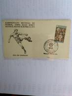 Mexico Two Fdc 2 ND SET World Cup 1970 - Coppa Del Mondo