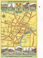 STRATFORD ON  AVON MAP CARD - Stratford Upon Avon