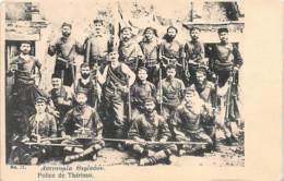 Crete - Police (Insurgents) In Theriso (spelled Therisso) - Publ. Perakis 77. - Grecia