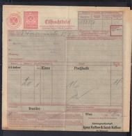 Österreich Frachtbrief 1937 - 1918-1945 1. Republik