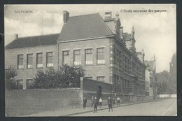 +++ CPA - VILVOORDE - VILVORDE - Ecole Moyenne Des Garçons   // - Vilvoorde