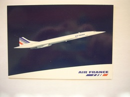 Avion / Airplane / AIR FRANCE / Concorde / Airline Issue - 1946-....: Ere Moderne