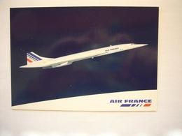 Avion / Airplane / AIR FRANCE / Concorde / Airline Issue - 1946-....: Modern Era