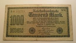 1922 - Allemagne - Germany - 1000 MARK, Berlin, Den 15 September 1922, S*181713 - 1.000 Mark