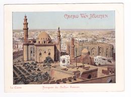 Le Caire Mosquée Du Sultan Hassan Carte PUB Cacao VAN HOUTEN VOIR DOS - Le Caire