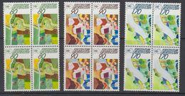 Liechtenstein 1988 Europäische Kampagne Für Den Ländlichen Raum 3v Bl Of 4 ** Mnh (42151C) - Liechtenstein