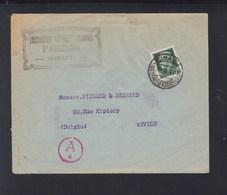 Lettera Inst. Int. Agricoltura 1941 Censura - 1900-44 Victor Emmanuel III
