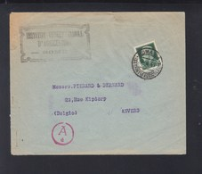 Lettera Inst. Int. Agricoltura 1941 Censura - 1900-44 Vittorio Emanuele III
