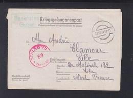 Dt. Reich Kriegsgefangenpost Stalag VII A Nach Frankreich France - Alemania