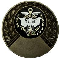 République Centrafricaine, Médaille, EFAO, Troupes Marines, Bangui, Bouar - Jetons & Médailles