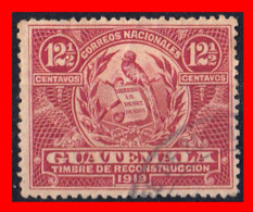 GUATEMALA (AMERICA DEL NORTE)  SELLO AÑO 1919 - Guatemala