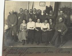 1 April 1918...in Den Haan  Foto Op Karton   (727) - De Haan