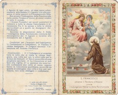 9323-SANTINO S.FRANCESCO D'ASSISI-1919 - Devotion Images