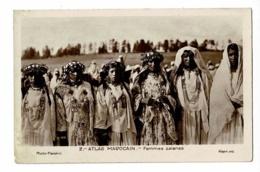 2 - Atlas Marocain - Femmes Zaianes (portant Des Belles Robes Et Des Parures De Bijoux) - Photo Flandrin - Circ 1934 - Afrique